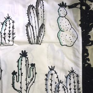 Cactus Wall tapestry 4ft tall, 6ft wide